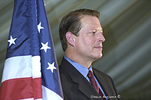 ArkImages.com - Shawn Benjamin Photography | Al Gore