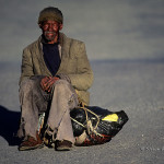 ArkImages.com - Shawn Benjamin Photography | Homeless Man, South Africa