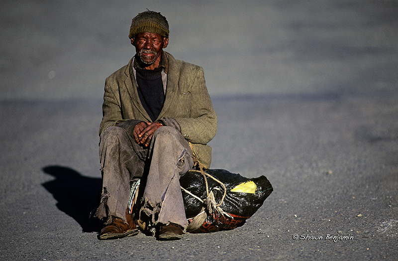 Arkimages Com Shawn Benjamin Photography Homeless Man South Africa Ark Images Powered By