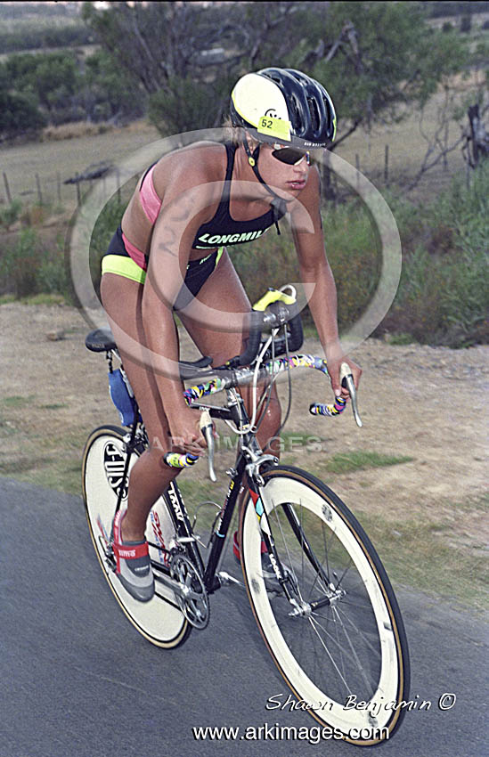 The South African  Triathlon Championchips Held At Gordons Bay On The 19 Febuary 1994