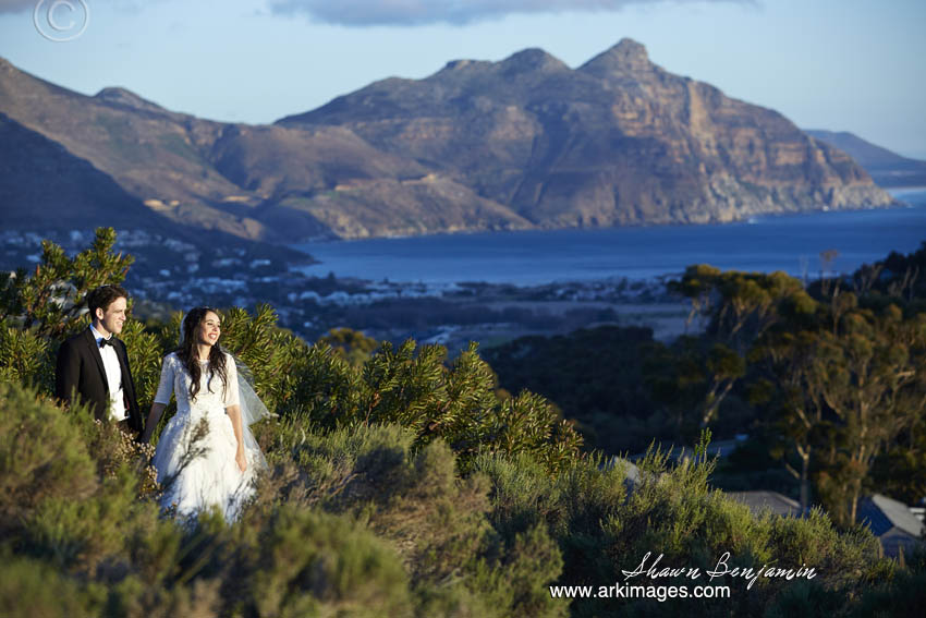 The formal photography after the wedding service at Suikerbossie.