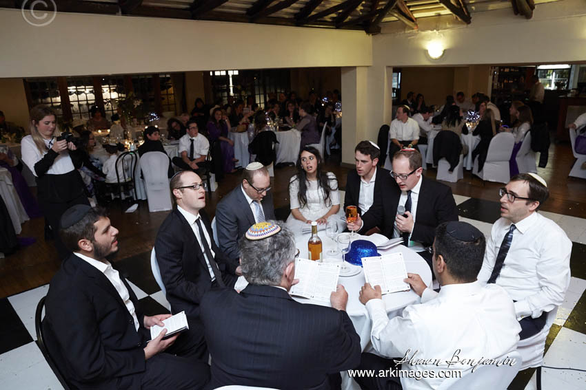 The sheva berakhot ( the 7 blessings) are the real heart of the Jewish wedding ceremony; it is in this liturgical moment of the ceremony that themes of joy and celebration and the ongoing power of love are expressed.