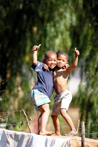 ArkImages.com - Shawn Benjamin Photography | Boys Playing, South Africa